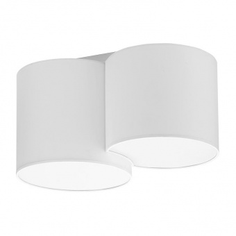 плафон mona white, white, 2xe27, tk lighting, 3440