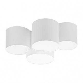 плафон mona white, white, 4xe27, tk lighting, 3442