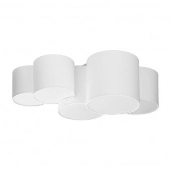плафон mona white, white, 5xe27, tk lighting, 3443