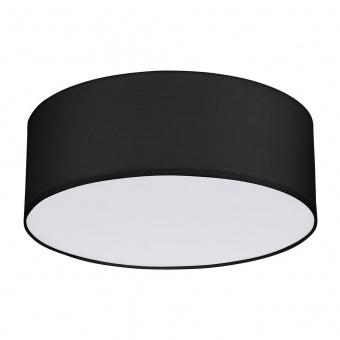 плафон rondo, black, 4xE27, tk lighting, 1088