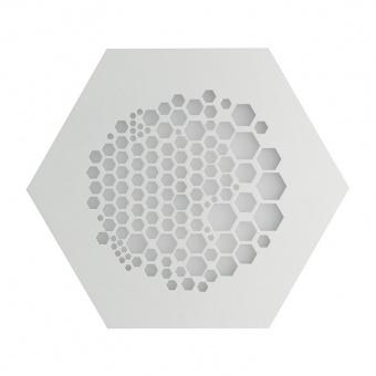 плафон alveare, matt white, led 17w, 3000k, 1700lm, ondaluce, pl.alveare/pc