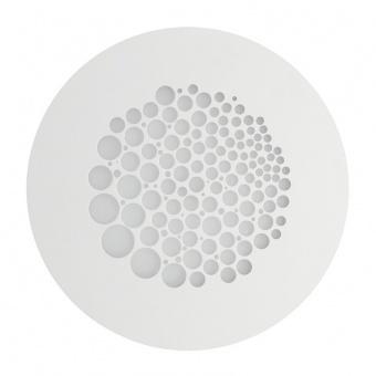 плафон paguro, matt white, led 17w, 3000k, 1700lm, ondaluce, pl.paguro/pc