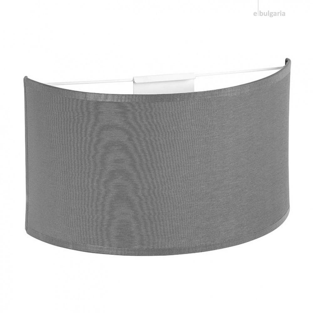 аплик rondo, grey, 1xe27, tk lighting, 3321