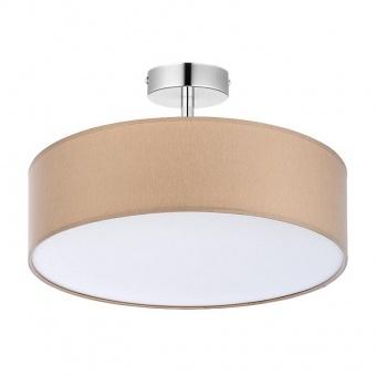 плафон rondo, beige, 4xe27, tk lighting, 4031