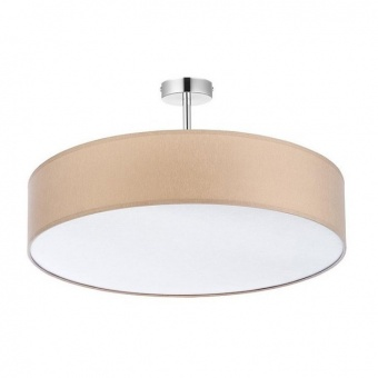 плафон rondo, beige, 4xe27, tk lighting, 3998