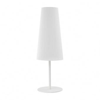 настолна лампа umbrella, white, 1xe27, tk lighting, 5173