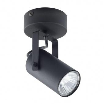 спот redo, black, 1xGU10, tk lighting, 6500