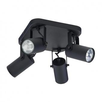 спот redo, black, 4xGU10, tk lighting, 6501