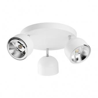 спот altea, white, 3xGU10 AR111, tk lighting, 3418
