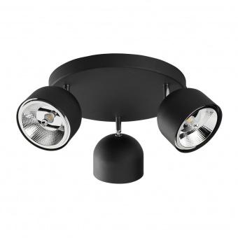спот altea, black, 3xGU10 AR111, tk lighting, 3423