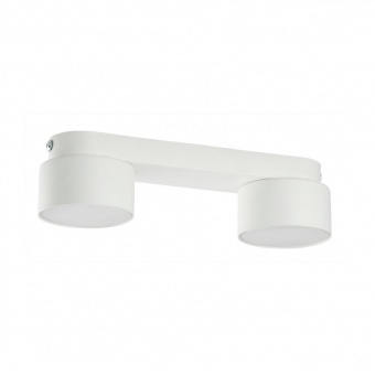 плафон space, white, 2xgx53, tk lighting, 3391
