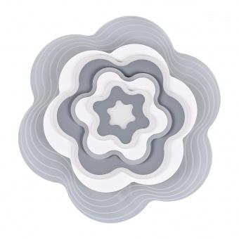 плафон rose, бял, elbulgaria, led 98w, 3000k-4000k-6000k, 2287