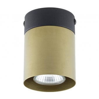 луна vico, black/gold, tk lighting, 1xgu10, 6508