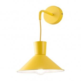 аплик elio, yellow, ondaluce, 1xE27, ap.elio/giallo