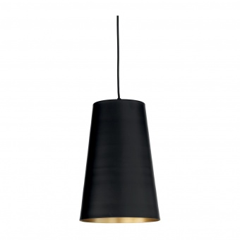 пендел pail, black/gold, ondaluce, 1xE27, so.pail/25-nera