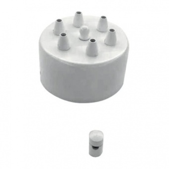 основа за полилей socket, white, ondaluce, base/d12-bco