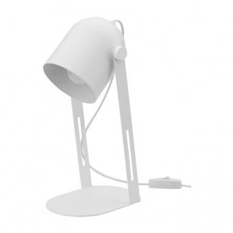 настолна лампа davis, white, tk lighting, 1xe27, 5189