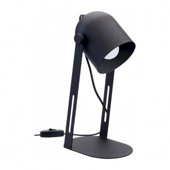 настолна лампа davis, black, tk lighting, 1xe27, 5191