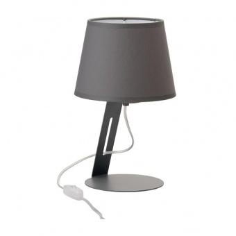 настолна лампа cracja, grey, tk lighting, 1xe27, 5134