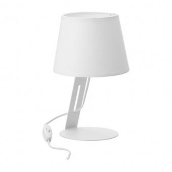 настолна лампа cracja, white, tk lighting, 1xe27, 5132
