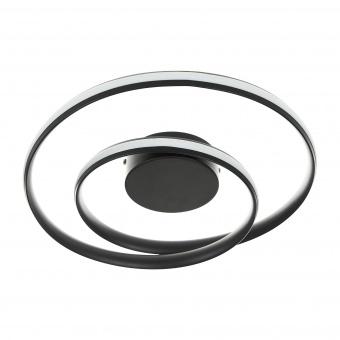 плафон Finley, черен, elbulgaria, led 45w, 3000k-4000k-6000k, 2294 bk