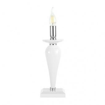 настолна лампа paganini, white, ondaluce, 1xE14, lt.paganini/bco
