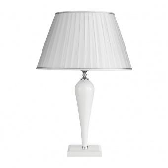 настолна лампа ravel, white, ondaluce, 1xE27, lg.ravel/bco