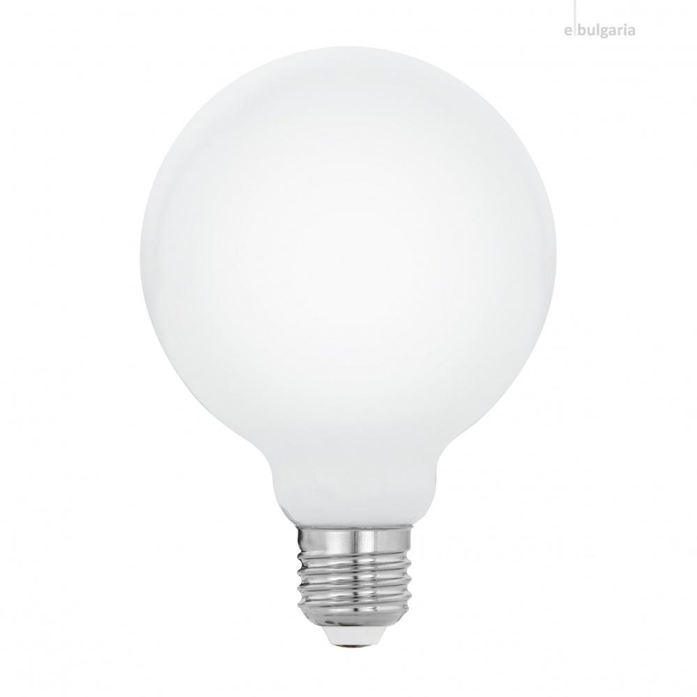 led лампа 7w, e27, eglo, 2700k, 806lm, 11928