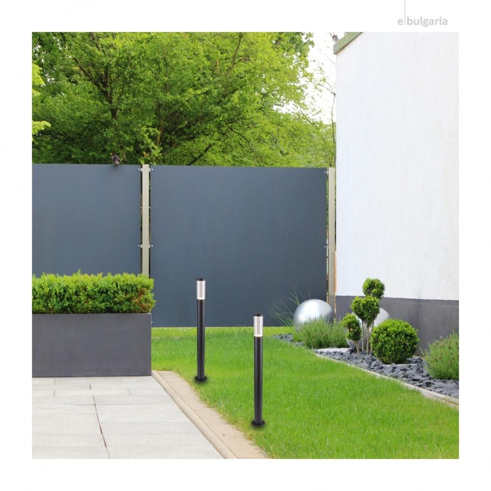 градински стълб katowice, anthracite/transparent, rabalux, 1xGU10, 7916