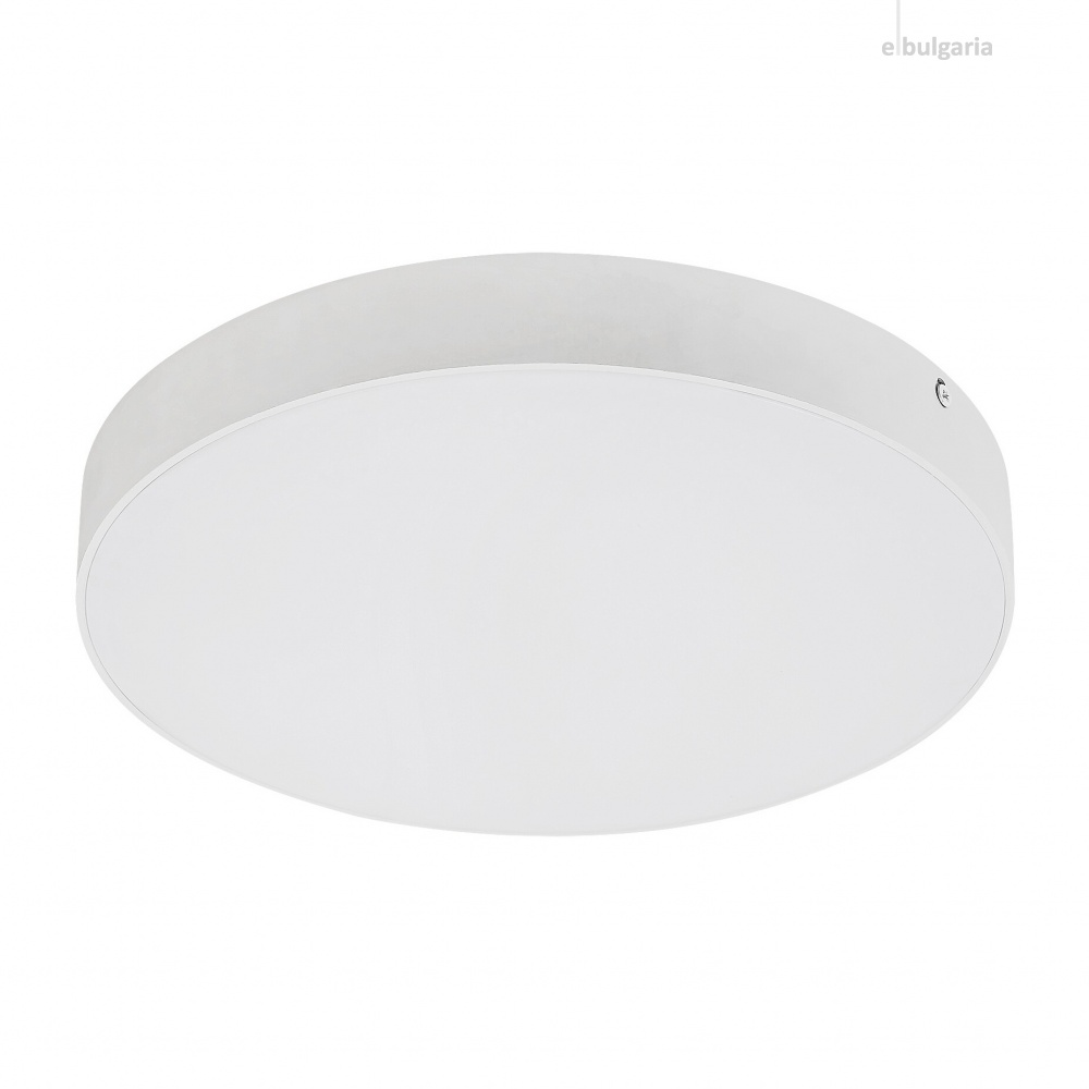 градински плафон tartu, matt white/white, rabalux, led 24w, 2800k-4000k-6000k, 2500lm, 7894