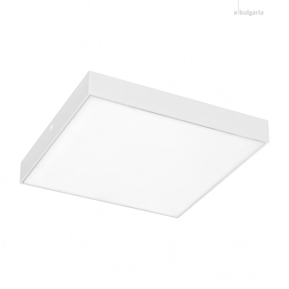 градински плафон tartu, matt white/white, rabalux, led 18w, 2800k-4000k-6000k, 1800lm, 7895