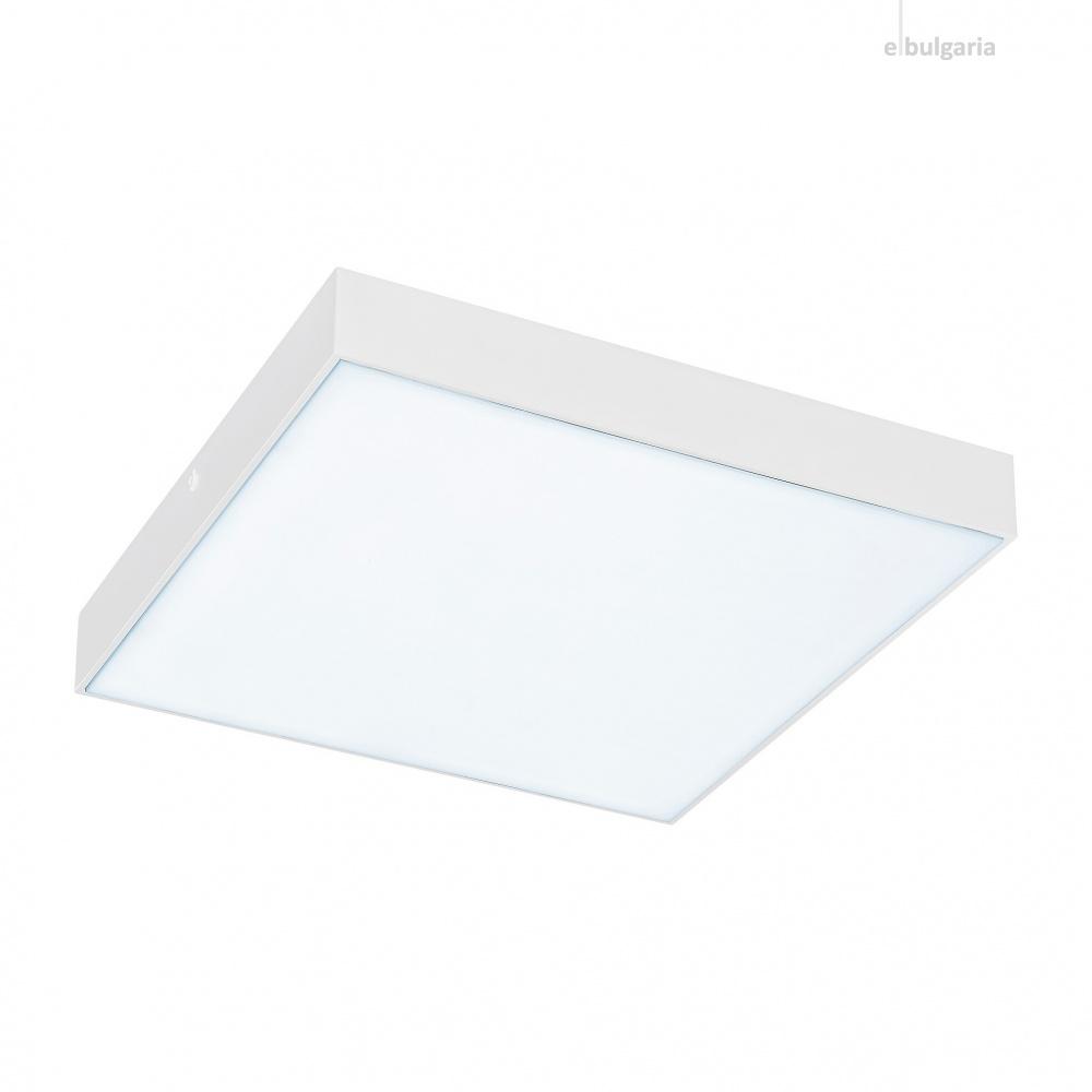 градински плафон tartu, matt white/white, rabalux, led 24w, 2800k-4000k-6000k, 2500lm, 7896