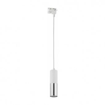пендел за монофазна шина tracer, white, 1xgu10, tk lighting, 4402