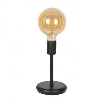 настолна лампа крос, черен, sirius lights, 1xe27, 265531