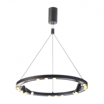 полилей magneto, matt black+sandblast, aca lighting, led 48w, 3000k, 4320lm, jnbp48led65bk