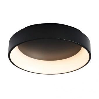 плафон apollo, matt black+opal, aca lighting, led 34w, 3000k, 1700lm, br81ledc45bk