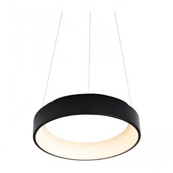 пендел apollo, matt black+opal, aca lighting, led 48w, 3000k, 2630lm, br81ledp60bkd