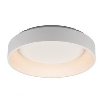 плафон apollo, matt white+opal, aca lighting, led 48w, 3000k, 2630lm, br81ledc60wh