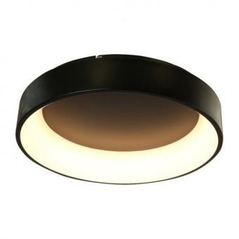 плафон apollo, matt black+opal, aca lighting, led 48w, 3000k, 2630lm, br81ledc60bk