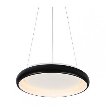 пендел diana, matt black+opal, aca lighting, led 34w, 3000k, 2330lm, br71ledp41bk