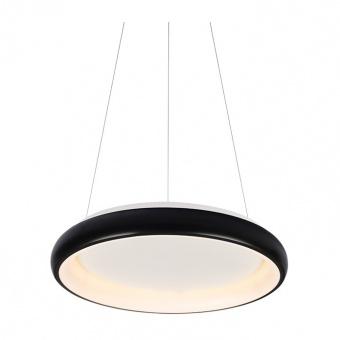 пендел diana, matt black+opal, aca lighting, led 34w, 3000k, 2330lm, br71ledp41bkd