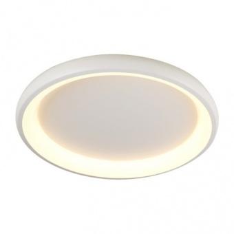 плафон diana, matt white+opal, aca lighting, led 48w, 3000k, 4610lm, br71ledc61whd