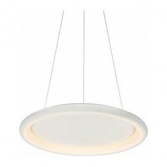 пендел diana, matt white+opal, aca lighting, led 48w, 3000k, 4610lm, br71ledp61whd