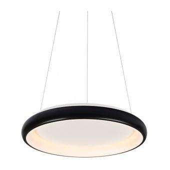 пендел diana, matt black+opal, aca lighting, led 48w, 3000k, 4610lm, br71ledp61bk