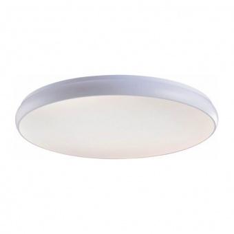 плафон kallista, matt white+sandblast, aca lighting, led 70w, 3000k, 5600lm, v27ledc80wh