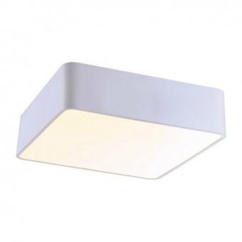 плафон emery, matt white+sandblast, aca lighting, led 40w, 3000k, 3200lm, v28ledc48wh