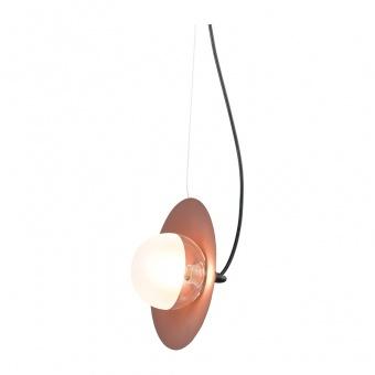 пендел hydra, copper paint-matt black+white-clear, aca lighting, 1xG9, hl4301p23bc