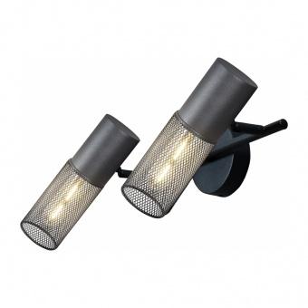 спот alcatraz, sand black, aca lighting, 2xE27, od602s33bk