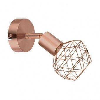 спот aladdin, satin copper, aca lighting, 1xE14, mc15611c