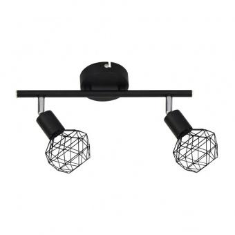 спот aladdin, black, aca lighting, 2xE14, mc15612b